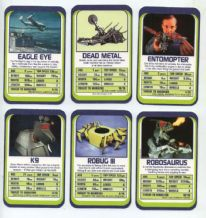 Collectable card game TW Robots  by Tomorrow world